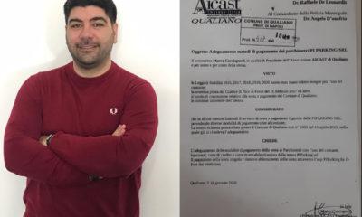 Il presidente aicast Cacciapuoti ed il protocollo