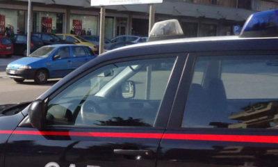 Vettura Carabinieri Mercogliano