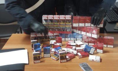 Sigarette sequestrate a casa de 61enne