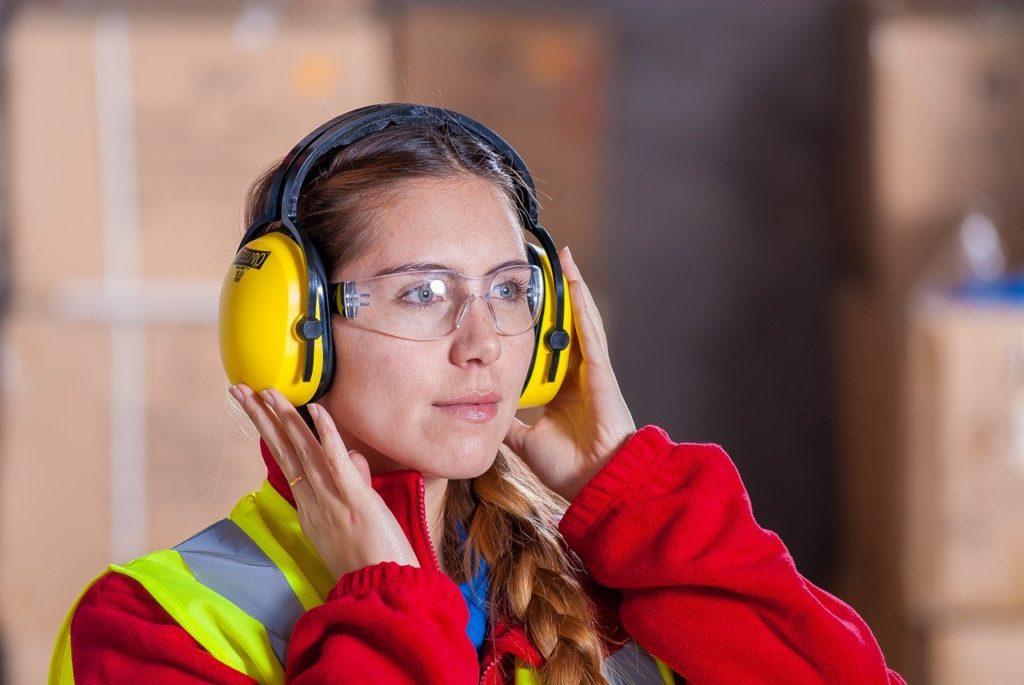 sicurezza sul lavoro le cuffie