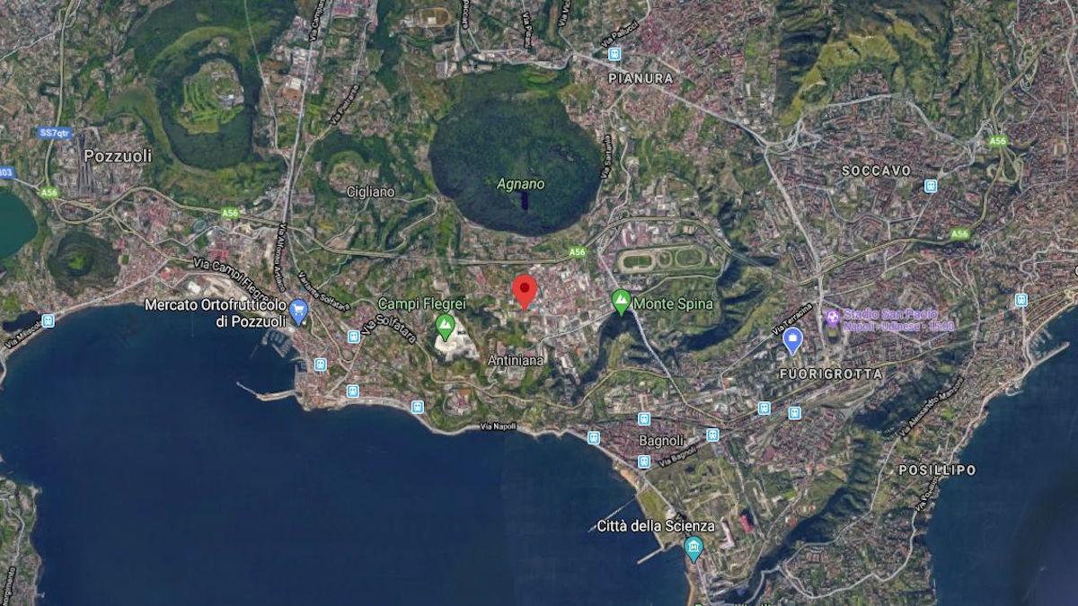 Terremoto Pozzuoli 26 aprile 2020