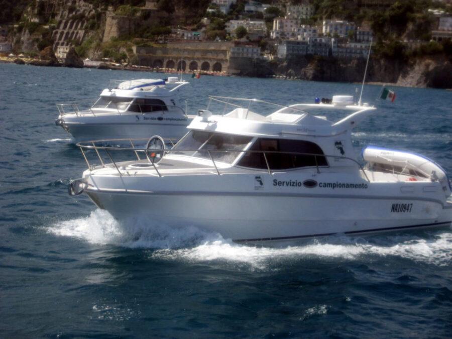 Imbarcazioni per il campionamento Arpac