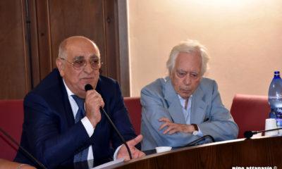 Armando De Rosa con il Maestro Salvatore Palomba