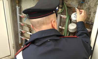 Carabinieri furto acqua potabile